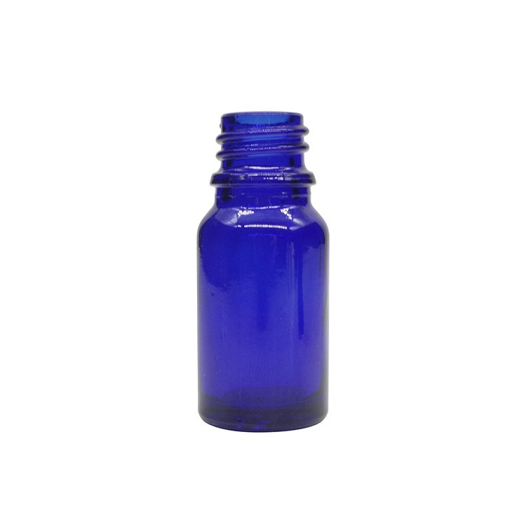 10ml Cobalt Blue Round Glass Dropper Bottles For Essential Oils