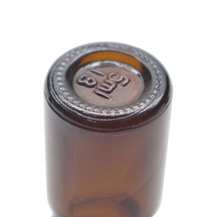 30ml Amber Boston Round Glass Bottles