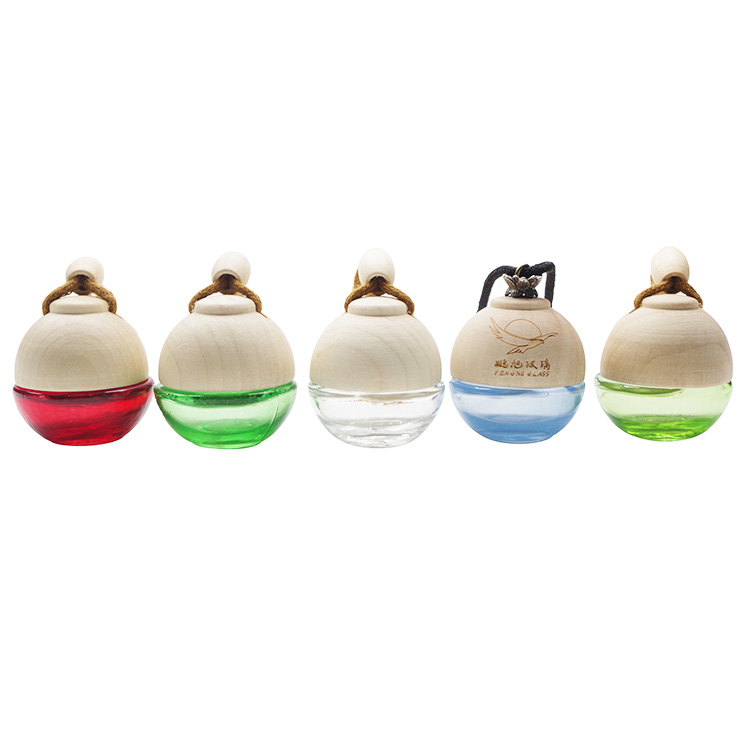5ml Spherical Car Air Freshener Diffuser Empty Glass Bottles